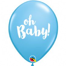 Oh Baby Blue - 11 Inch Balloons 25pcs